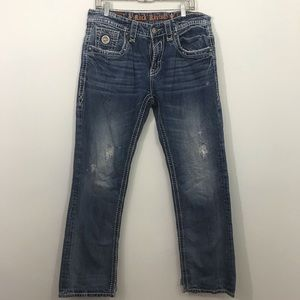 Rock revival Brody straight leg jeans